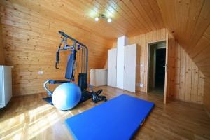 Mini Fitnessraum