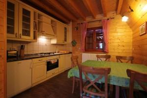 Küche im Haus Eva