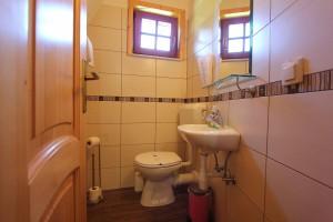 Toilette im Haus Eva