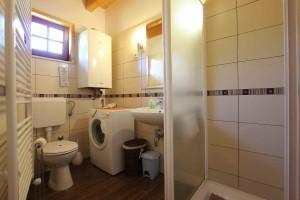 Badezimmer im Haus Eva