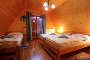 Dreibettzimmer im Haus Eva
