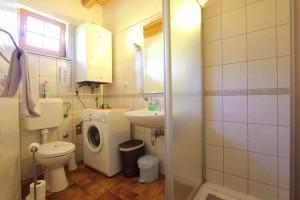 Toilette im Haus Ana