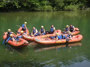 Rafting, Brod na Kupi